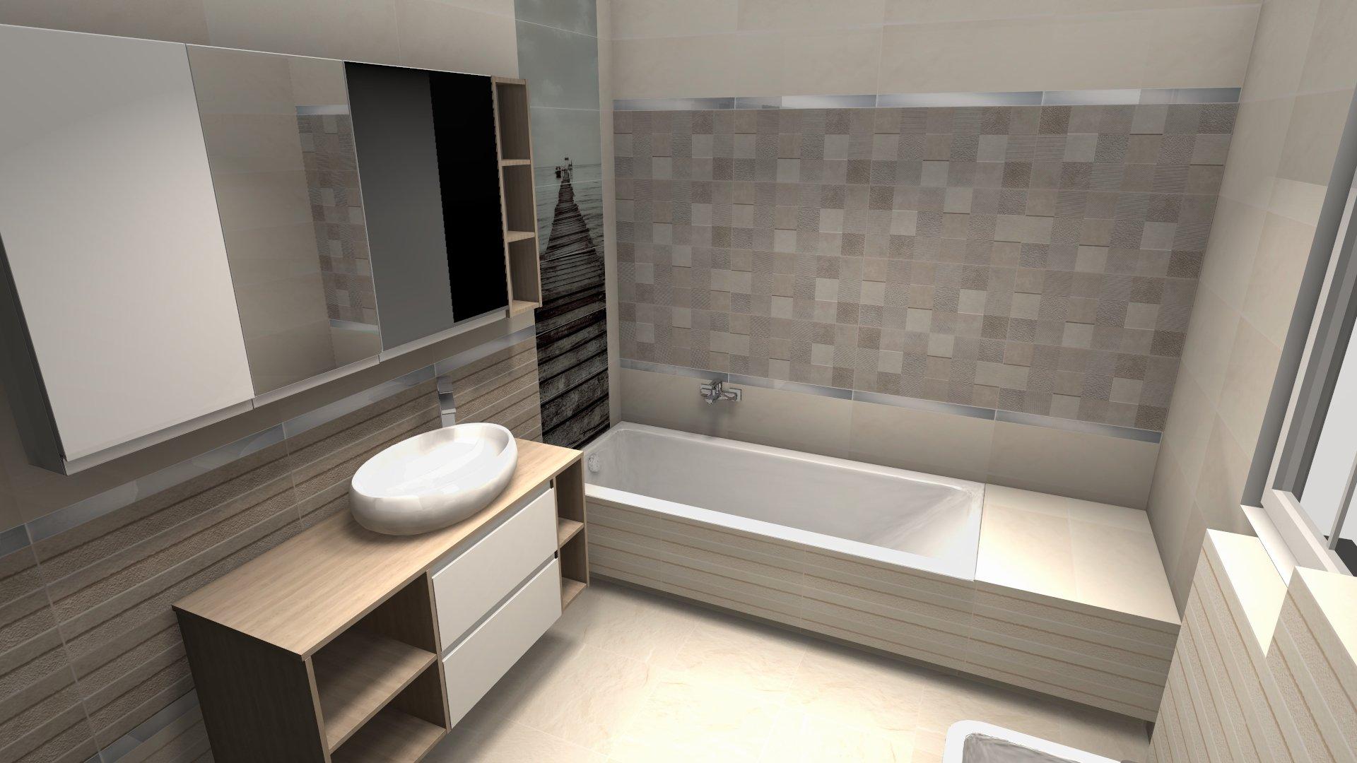 Projekt łazienki Gratis 1000 Płytek Dla Ciebie
