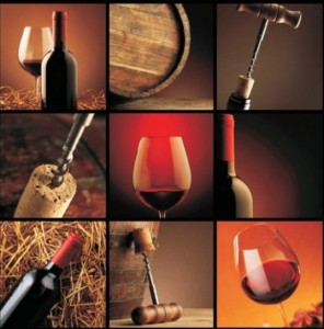 Alfa Cer Alfa-010 Wine Collage 1 60x60 GAT I