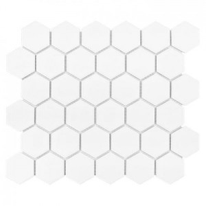 DUNIN  Hexagon White 51 matt 28,2x27,1