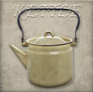 Mainzu Cementine decor Kettle 20x20 GAT I